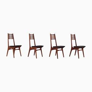 Modell 83 Esszimmerstühle von Niels Otto Møller für Boltinge Stolefabrik, 1960er, 4er Set