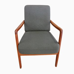 Vintage Model FD109 Teak Armchair by Ole Wanscher for France & Søn
