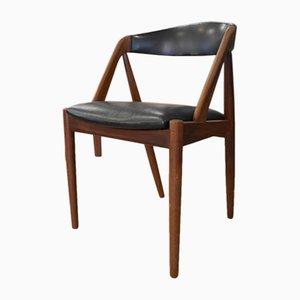 Chaise Modèle 31 Vintage en Teck par Kai Kristiansen pour Schou Andersen