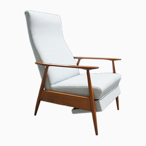 Butaca reclinable Mid-Century, años 60