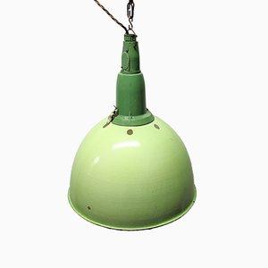 Lámpara colgante industrial Mid-Century, años 60