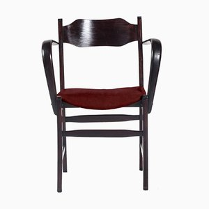 Customizable Italian Art Deco Armchair