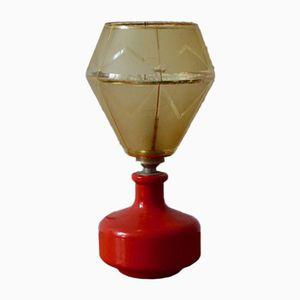 Lámpara de mesa Mid-Century vintage