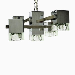 Vintage Cubic Chandelier from Tappital, 1970s
