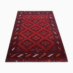 Afghanischer Vintage Rubine Teppich