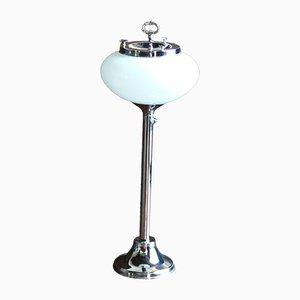 Mid-Century Stehlampe mit Aschenbecher, 1960er