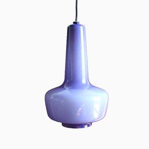 Lampe à Suspension Kreta par Jacob Eiler Bang et Holmegaard Glassworks pour Fog & Mørup, 1960s