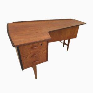 Schreibtisch in Boomerang-Optik von Peter Løvig Nielsen für Løvig, 1950er