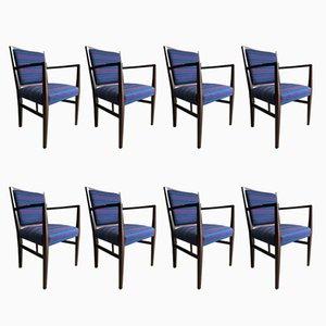 Marwood Esszimmerstühle aus Palisander von Martin Hall für Gordon Russell, 1970er, 8er Set
