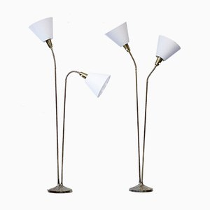 Vintage Floor Lamps by Sonja Katzin for ASEA, Set of 2