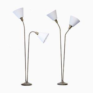 Vintage Floor Lamps by Sonja Katzin for ASEA, Set of 2