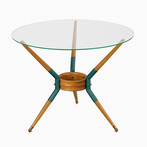 Italian Tripod Coffee Table, 1950s
