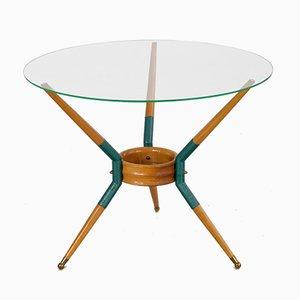 Tavolino da caffè tripode, Italia, anni '50