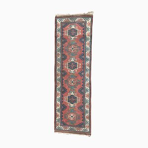 Vintage Turkish Kars Runner Rug
