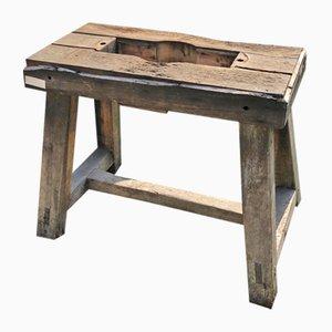 Small Vintge Oak Workbench