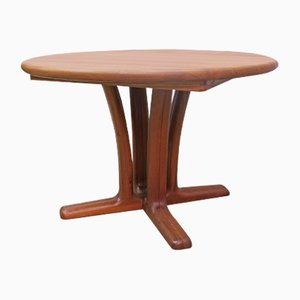 Round Teak Table from Dyrlund, 1960s