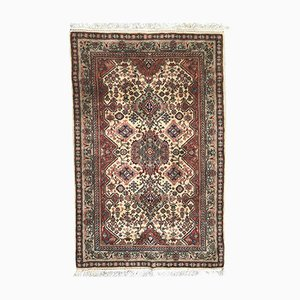 Vintage Transylvanian Hand-Knotted Rug
