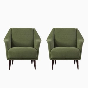 Model 802 Armchairs, 1950s, Set of 2