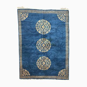 Tibetischer Vintage Teppich