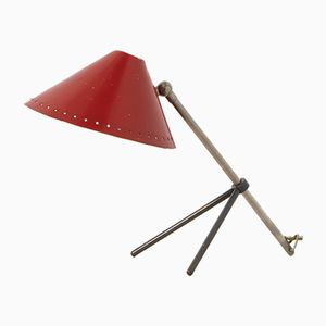 Pinocchio Table Lamp by H. Busquet for Hala, 1950s