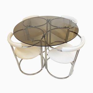 Esstisch & 4 Stühle, 1970er