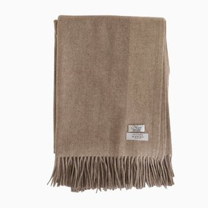 Dark Brown Biarritz Throw from Nzuri Textiles