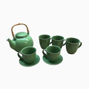 Vintage Ceramic Tea Service Set from Habitat, 1970s