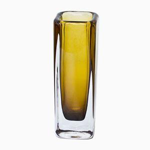 Vase en Cristal de Verre par Vicke Lindstrand pour Kosta, 1950s