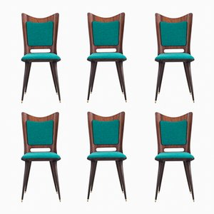 Dining Chairs by Mario Asnago, 1950s, Set of 6