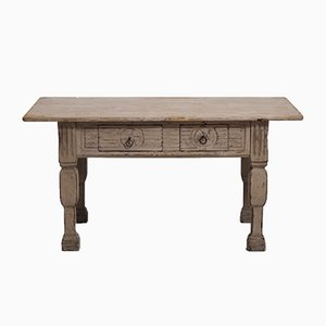 Antique Gustavian Center Table