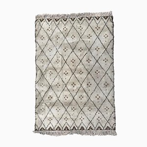 Handgeknüpfter marokkanischer Vintage Beni Ourain Teppich