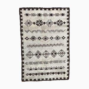Handgeknüpfter marokkanischer Mid-Century Berberteppich