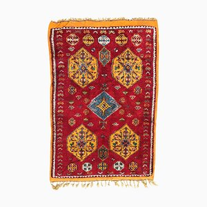 Vintage Moroccan Berbere Hand-Knotted Rug