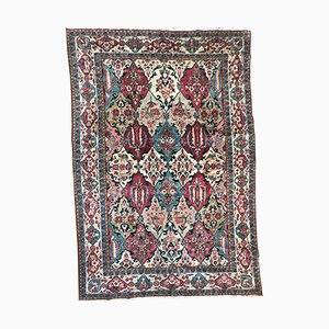 Vintage Middle Eastern Hand-Knotted Rug, 1940s