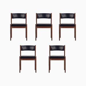 Model 104 Dining Chairs by Gianfranco Frattini for Cassina, 1950s, Set of 5