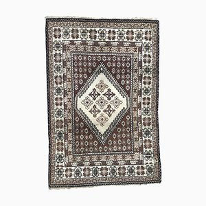 Vintage Moroccan Hand-Knotted Rug