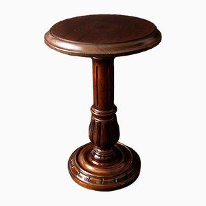 Kleiner runder französischer Tisch, 1950er