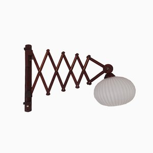 Vintage Accordion Wall Lamp