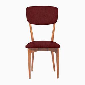 Customizable Mid-Century Italian Dining Chairs, 1950s, Set of 4