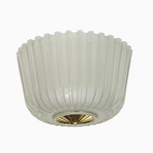 Deckenlampe aus Muranoglas von Gianni Seguso, 1930er