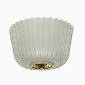 Murano Glass Flush Mount by Gianni Seguso, 1930s