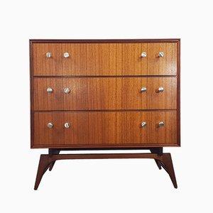Cajonera Mid-Century de Meredew Furniture, años 60