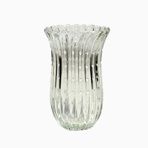 Murano Glass Vase by Barovier & Toso, 1930s