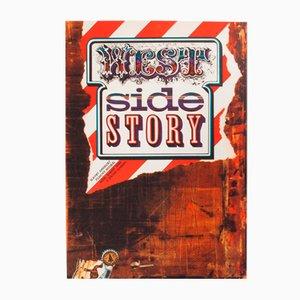 Affiche de Film West Side Story par Zdeněk Ziegler, 1973
