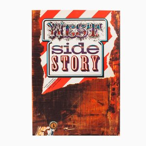 West Side Story Movie Poster by Zdeněk Ziegler, 1973