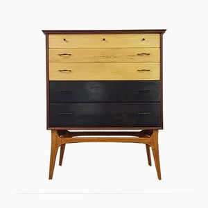 Mid-Century Chest of Drawers by Alfred Cox for AC Furniture, 1950s