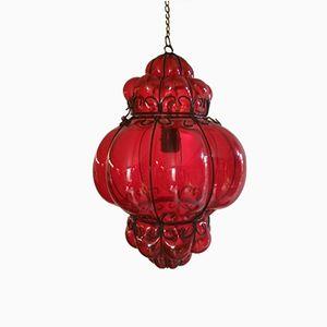 Lámpara colgante veneciana, años 60