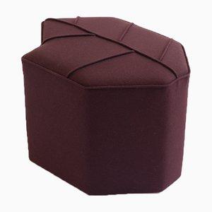 Tabouret Leaf Seat Marron par Nicolette de Waart