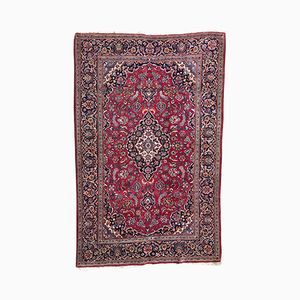 Mid-Century Middle Eastern Hand-Knotted Rug