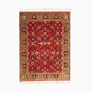 Vintage Karabagh Hand-Knotted Rug